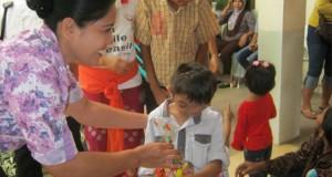 Pemberian Kid Parcels Ke Yayasan Senyum Bali